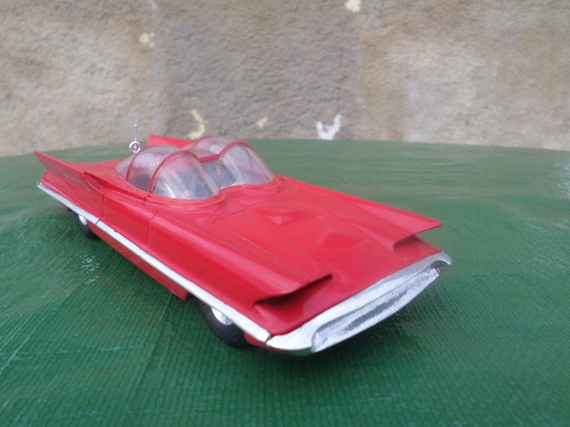Bubble top, Dream car and show rod - Model kit and Diecasts Sam_1428