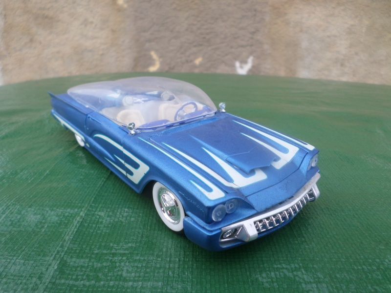 Bubble top, Dream car and show rod - Model kit and Diecasts Sam_1432