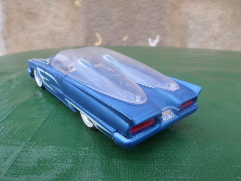 Bubble top, Dream car and show rod - Model kit and Diecasts Sam_1433