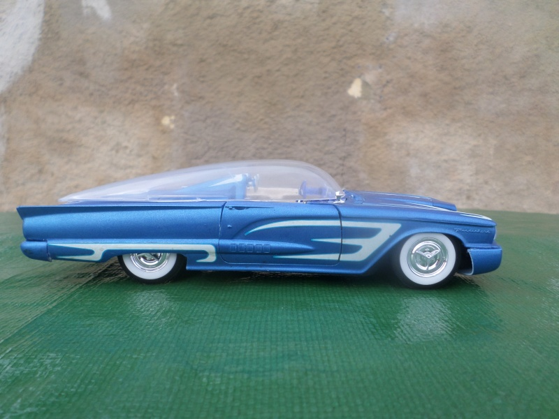 Bubble top, Dream car and show rod - Model kit and Diecasts Sam_1434