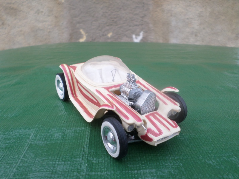 Bubble top, Dream car and show rod - Model kit and Diecasts Sam_1436