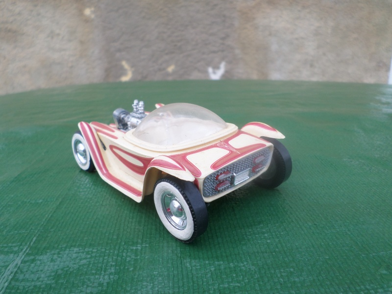 Bubble top, Dream car and show rod - Model kit and Diecasts Sam_1437