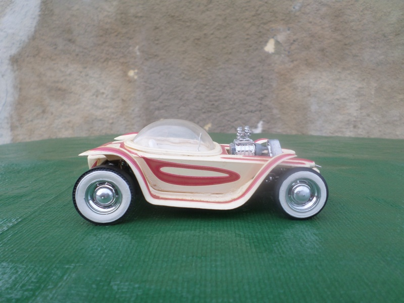 Bubble top, Dream car and show rod - Model kit and Diecasts Sam_1439
