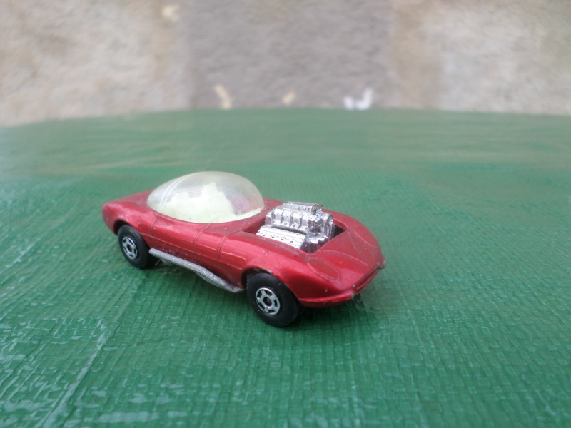 Bubble top, Dream car and show rod - Model kit and Diecasts Sam_1440