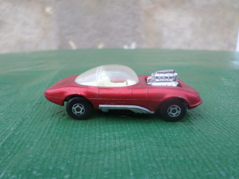 Bubble top, Dream car and show rod - Model kit and Diecasts Sam_1442