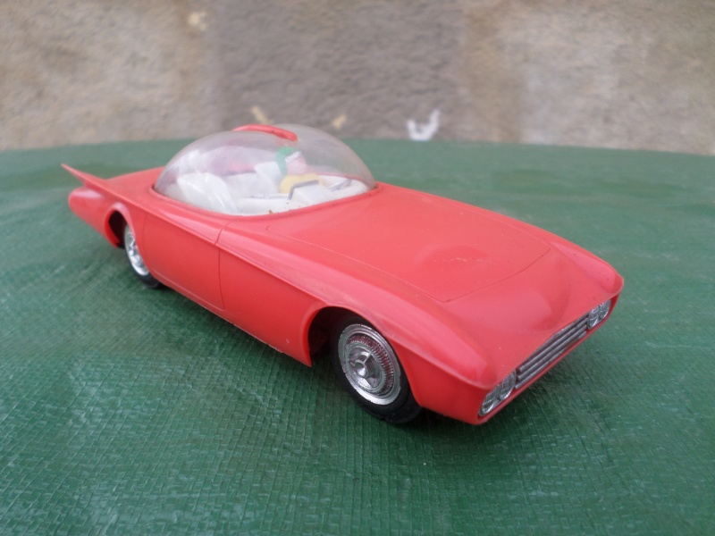 Bubble top, Dream car and show rod - Model kit and Diecasts Sam_1452