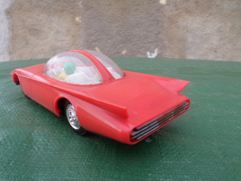 Bubble top, Dream car and show rod - Model kit and Diecasts Sam_1453