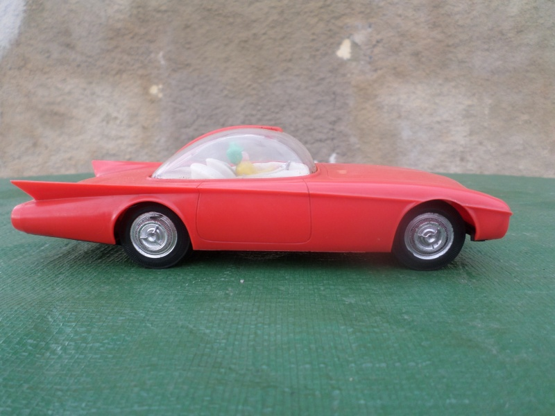 Bubble top, Dream car and show rod - Model kit and Diecasts Sam_1454