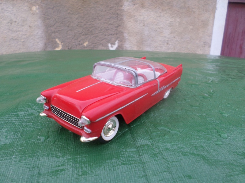 Bubble top, Dream car and show rod - Model kit and Diecasts Sam_1473