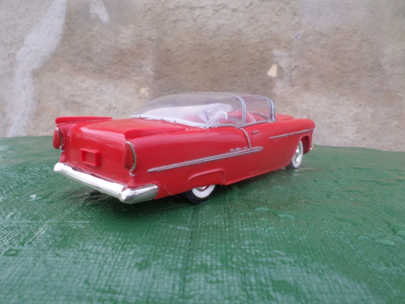 Bubble top, Dream car and show rod - Model kit and Diecasts Sam_1474