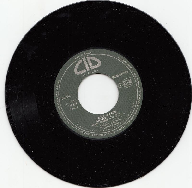 Johnny Carroll and his Hot Rocks - Hot Rock / Corrine, Corrina / Crazy, Crazy, lovin' / Wild wild women - Ep CID Sans-t11