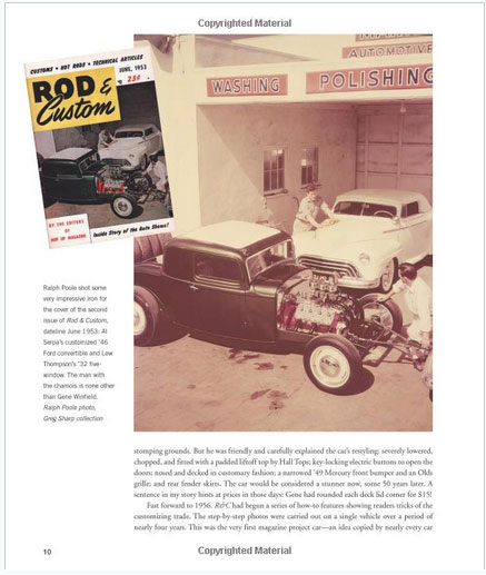 The Legenday Custom cars and Hot Rods of Gene Winfield - David Grant - Motorbook Sans-t18