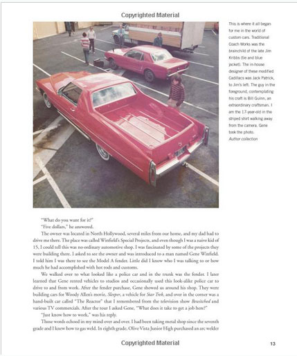 The Legenday Custom cars and Hot Rods of Gene Winfield - David Grant - Motorbook Sans-t19