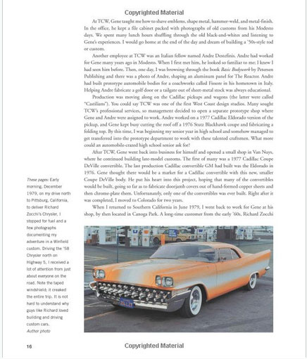 The Legenday Custom cars and Hot Rods of Gene Winfield - David Grant - Motorbook Sans-t22