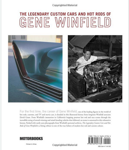 The Legenday Custom cars and Hot Rods of Gene Winfield - David Grant - Motorbook Sans-t26