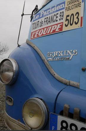 Les véhicules de la Caravane du Tour de France 1950's & 1960's - Page 4 Sans-t46