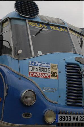 Les véhicules de la Caravane du Tour de France 1950's & 1960's - Page 4 Sans-t48