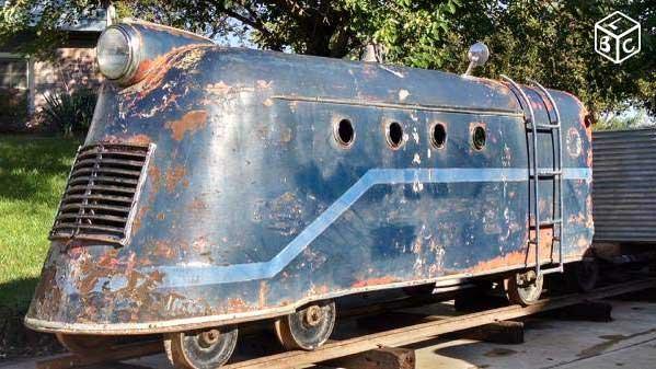 Locomotives et trains vintages Sans-t52
