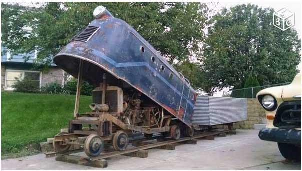 Locomotives et trains vintages Sans-t53