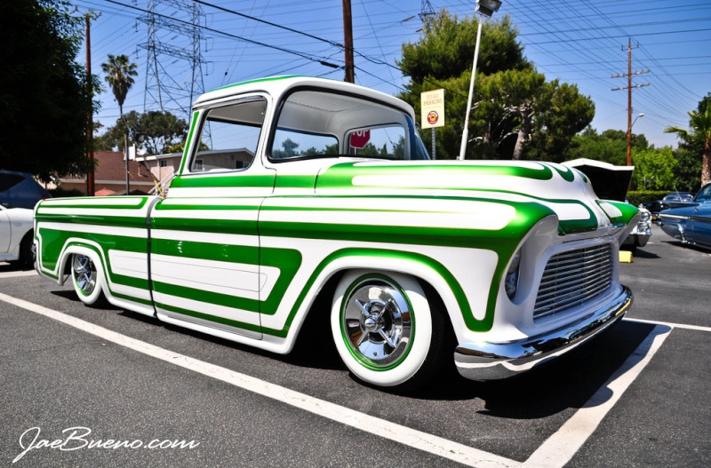 Chevy pick up  1955 - 1959 custom & mild custom Sans-t85