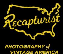 Recapturist - photos d'enseignes néons et bâtiments - vintage sign pics 1950's USA Site-l10