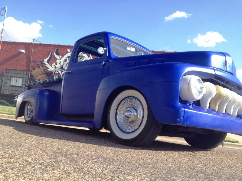 Ford¨Pick up 1948 - 1951 custom & mild custom Sqd10