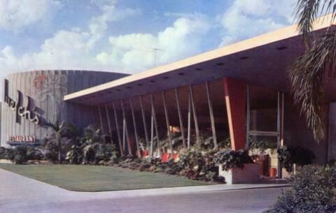 Restaurant Long Beach Ca 1950s