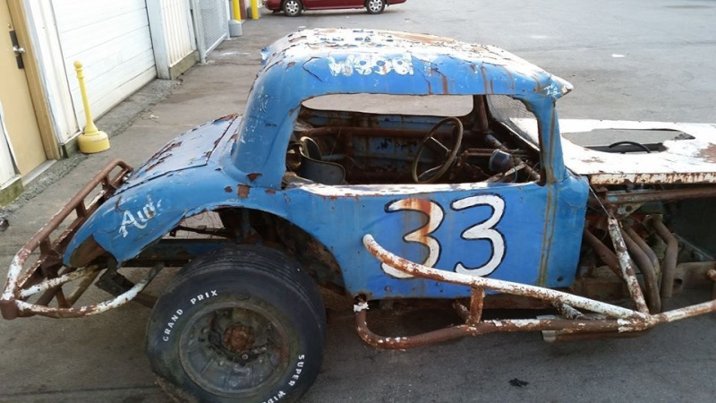 Dirt track racer - stock car - demolition derby Trtre10