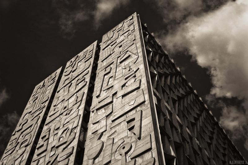 Architectures de banques et bureaux vintages - 1950's & 1960's Office & Bank  Tumblr13