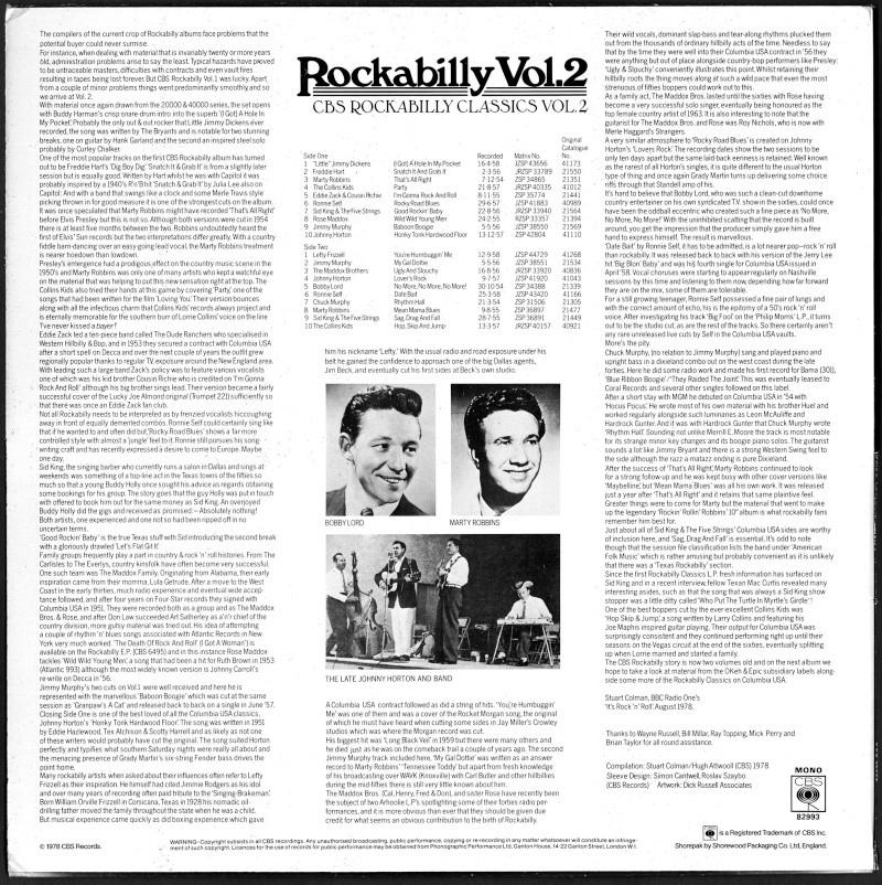 CBS Rockabilly - various artists Va_cbs13