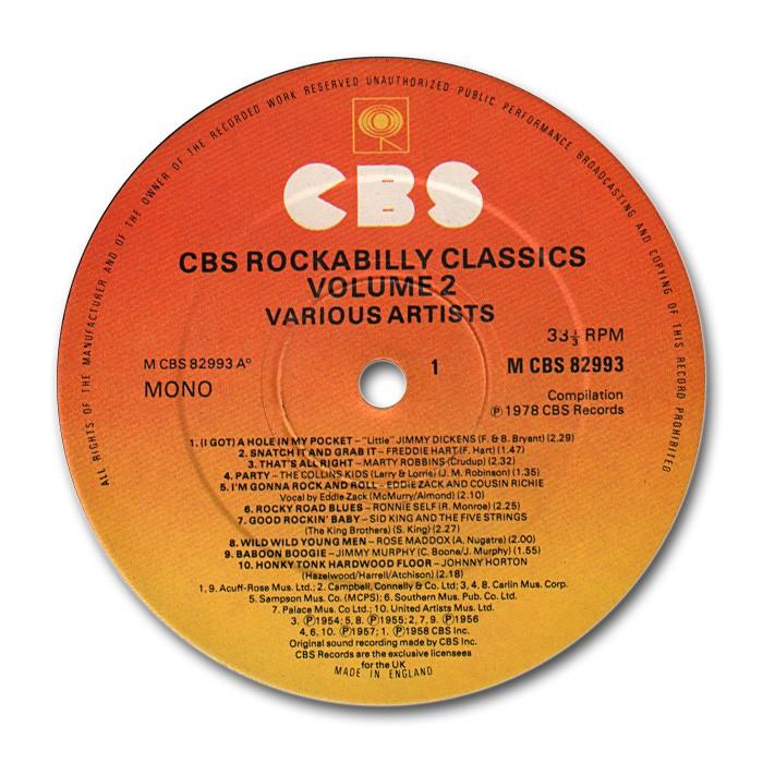 CBS Rockabilly - various artists Va_cbs14