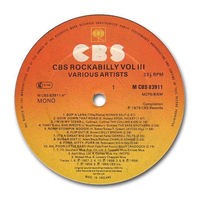 CBS Rockabilly - various artists Va_cbs17