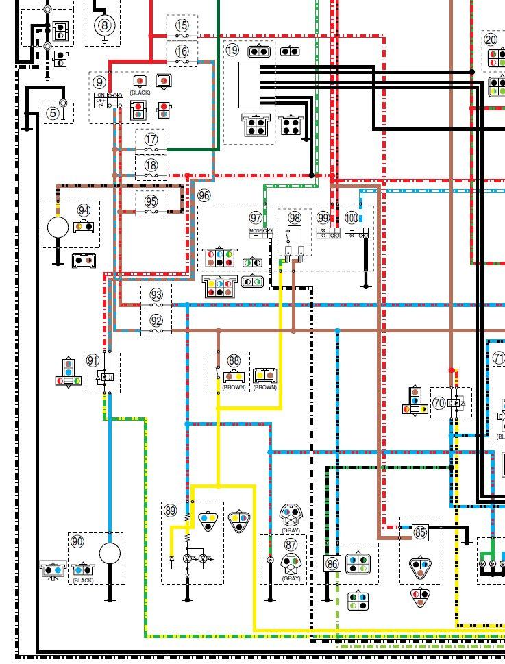 Schema Elettrico Xtz 750 : Kit anti brouillard xtz page