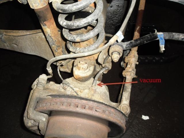 Truc trouble 4x4 Ford 1999-2005 Hub locking  solenoid Sam_0949