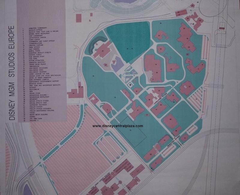 Disney-MGM Studios Europe, le master plan d'origine Dmgme-10