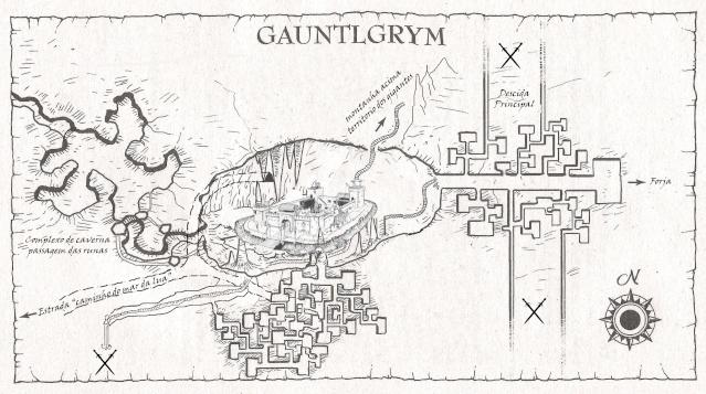 """Passagem das Runas para Gauntlgrym - """"A Mão Cortada"""" na língua dos anões. Gauntl10"""
