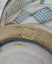 Large pot marked AV - British ?? 2014-029