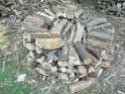 Une meule pour stocker son bois : E14