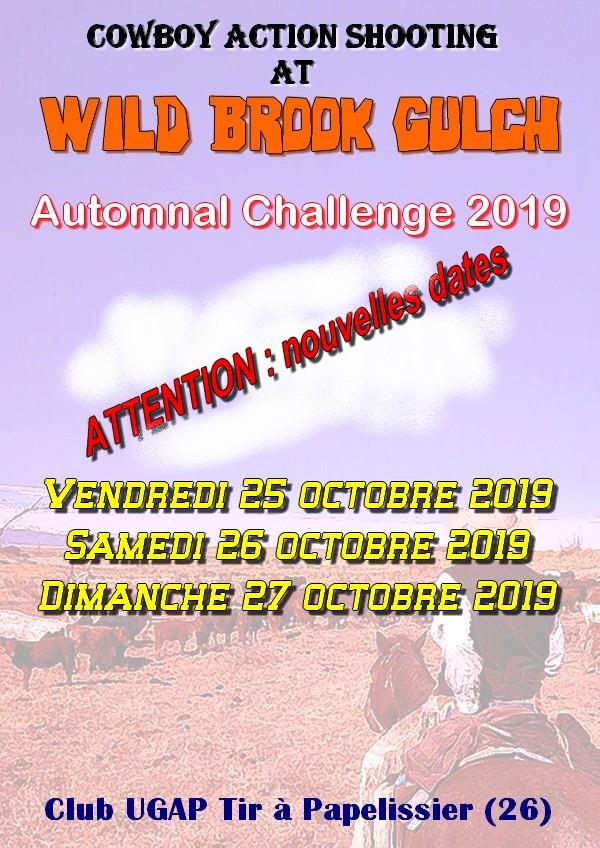 2nd Automnal Challenge à WBG Affich10
