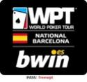 CASINOBARCELONA.ES   Nombre torneo: FR WPT 1 pl GTD   Día: 11 de octubre1 entrada para el World Poker Tour National de Barcelona  Wptn-l12