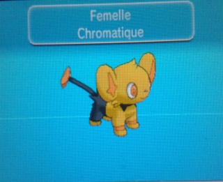 » Le pokédex chromatique du forum 20140617