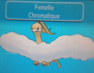 » Le pokédex chromatique du forum 20140625