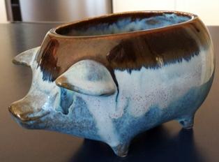Piggy Planter Clay_c13