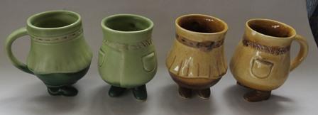 Very cute, modelled by Hemara, Stewart Pottery  Hemara10