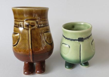 Very cute, modelled by Hemara, Stewart Pottery  Hemara11