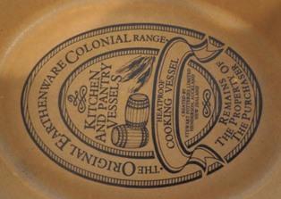 Stewart pottery chook cooking vessel (or egg holder) Stewar11