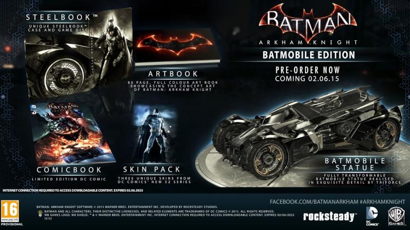 Batman : Arkham Knight éditions spéciales Sony_p11