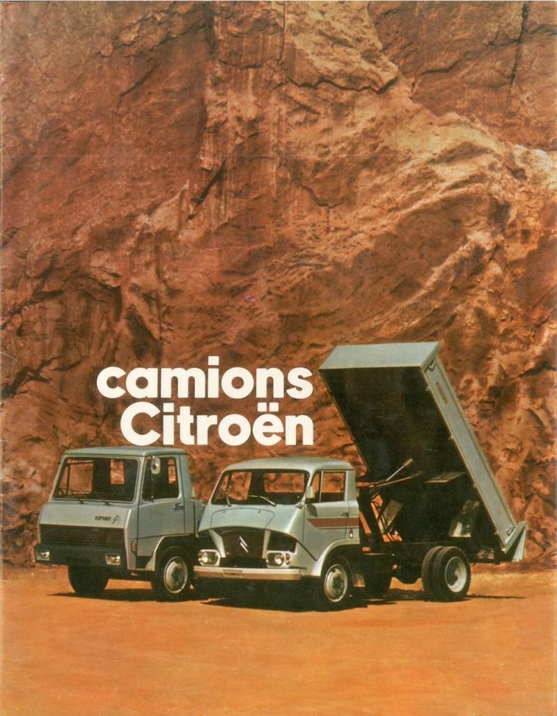 Brochure publicitaire de Camions Tracteurs et cars Camion24