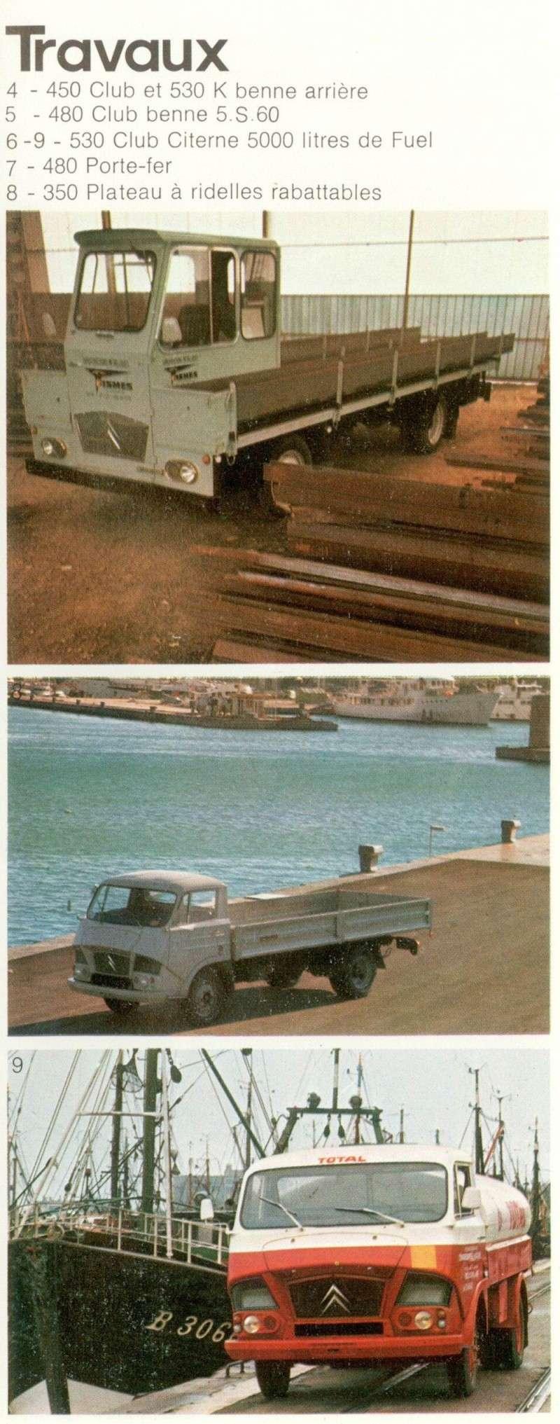 Brochure publicitaire de Camions Tracteurs et cars Camion27