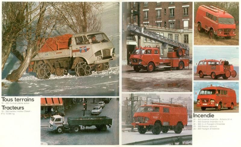 Brochure publicitaire de Camions Tracteurs et cars Camion28